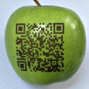 QR Codes Fun to Eat Fruit