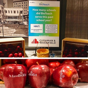 MassBioEd Fun to Eat Fruit apples for STEM education