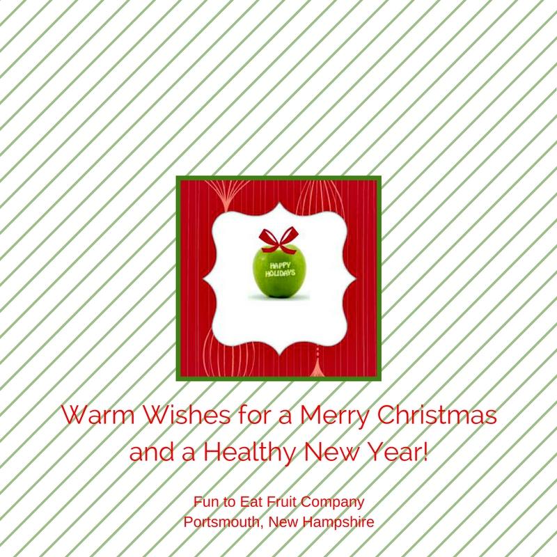 Merry Christmas Fun to Eat Fruit