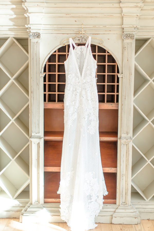 The Perfect Palette modern garden wedding stunning gown by NOVAES PHOTOGRAPHY