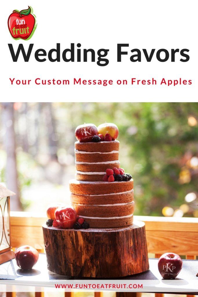 Healthy Wedding Favor Trend 2017 Fun To Eat Fruit - Healthy Wedding Cakes