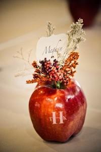 Fun to Eat Fruit wedding centerpiece table decor