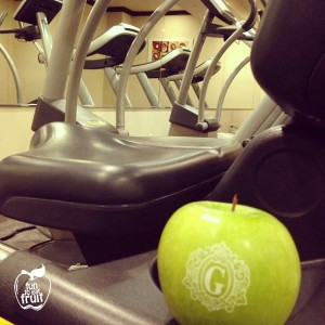 Spa Gym Branded Fun to Eat Fruit