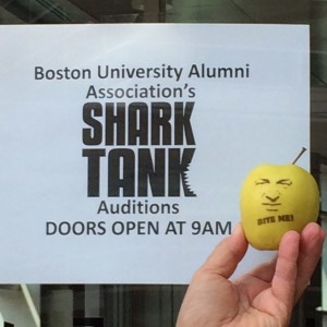 Shark Tank Audition Fun to Eat Fruit