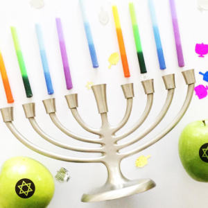 Fresh, Healthy Fun to Eat Fruit for Hanukkah