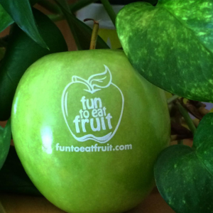 fun to eat fruit branded apple