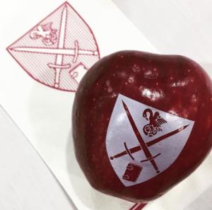 Fun to Eat Fruit custom apples for St. Pauls School Reunion Weekend NH