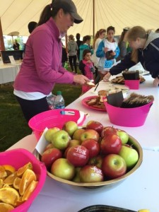 Fun to Eat Fruit Apples Komen Race for the Cure 5K healthy giveaway