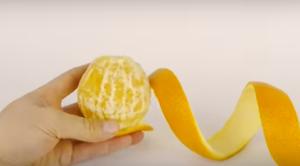 Fun to Eat Fruit presents a fun way to peel an orange