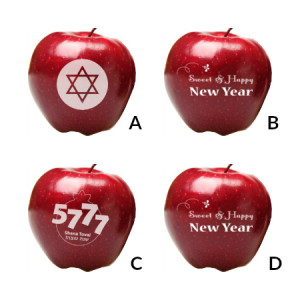 Fun to Eat Fruit Apples Rosh Hashanah Designs order by Sept.18