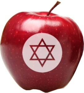 Fun to Eat Fruit Rosh Hashanah Apple A Star