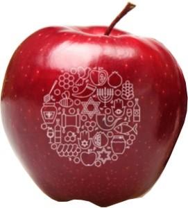 Fun to Eat Fruit Rosh Hashanah Apple B Holiday Montage
