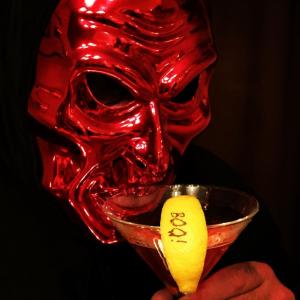 Spooktacular Halloween lemon Fun to Eat Fruit cocktail garnish