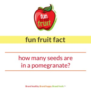 Fun to Eat Fruit Trivia National Nutrition Month