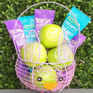 Healthy EAster Baskets with Fun to Eat Fruit