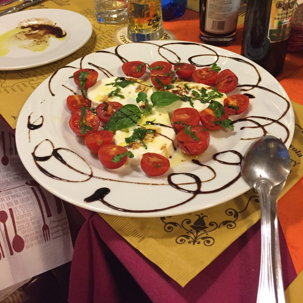 Fun to Eat Fruit Tomatoes Mozzarella Lucca Italy