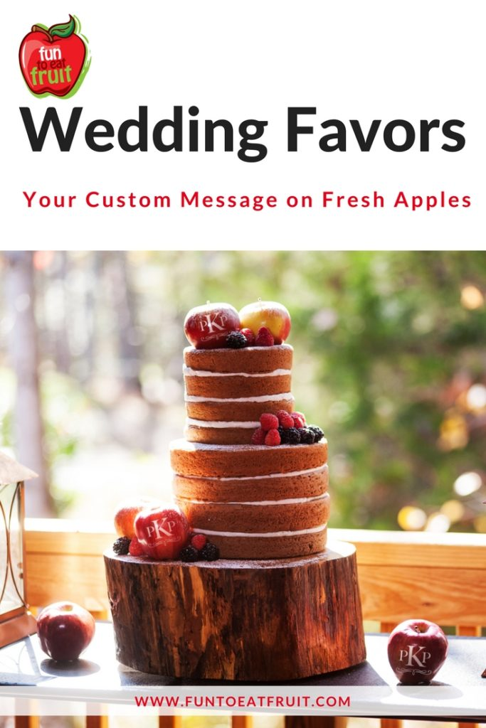 Healthy, Edible Wedding Favors!