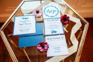 Scandinavian inspired wedding invitation suite. www.funtoeatfruit.com