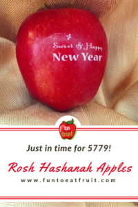 For a sweet, happy New Year, surprise your guests with Fun to Eat Fruit Rosh Hashanah apples! Choose from 2 edible, Judaic designs! Apples arrive washed, imprinted and ready-to-enjoy! www.funtoeatfruit.com #RoshHashanah #RoshHashana #Jewish #Apples #Favors #JewishFood