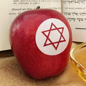 red apple star of david Jewish Fun to Eat Fruit