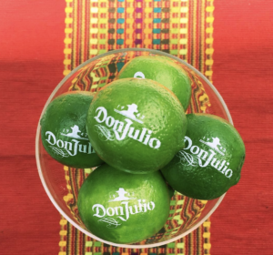 Branded limes by Fun to Eat Fruit for Cinco de Mayo