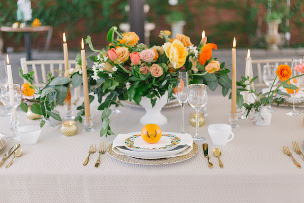 Which wedding palette will inspire joy for your big day? Click for details about a special citrus inspired wedding by Chicago's Savvy Rose Events and our monogrammed Fun to Eat Fruit citrus favors. www.funtoeatfruit.com #dreamwedding #weddingideas #weddingtablesettings #weddingreceptionideas #favorideas #citrus #citruscenterpiece #monograms