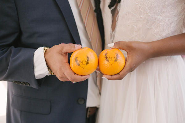 It takes two, baby! Looking for ideas for a citrus inspired wedding? Click for details about a recent, joyful wedding by Chicago's Savvy Rose Events featuring our monogrammed Fun to Eat Fruit citrus favors. www.funtoeatfruit.com #dreamwedding #weddingideas #weddingfavors #weddingreceptionideas #favorideas #citrus #ediblefavors #monograms