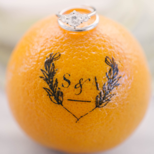 Looking for ideas for a citrus inspired wedding? Click for details about a recent, joyful wedding by Chicago's Savvy Rose Events featuring our monogrammed Fun to Eat Fruit citrus favors. www.funtoeatfruit.com #dreamwedding #weddingideas #weddingfavors #weddingreceptionideas #favorideas #citrus #ediblefavors #monograms #weddingrings #engagement #engagementringphotos