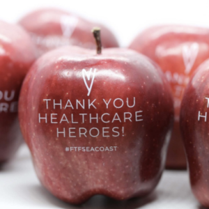 Healthcare Hero apple by Fun to Eat Fruit
